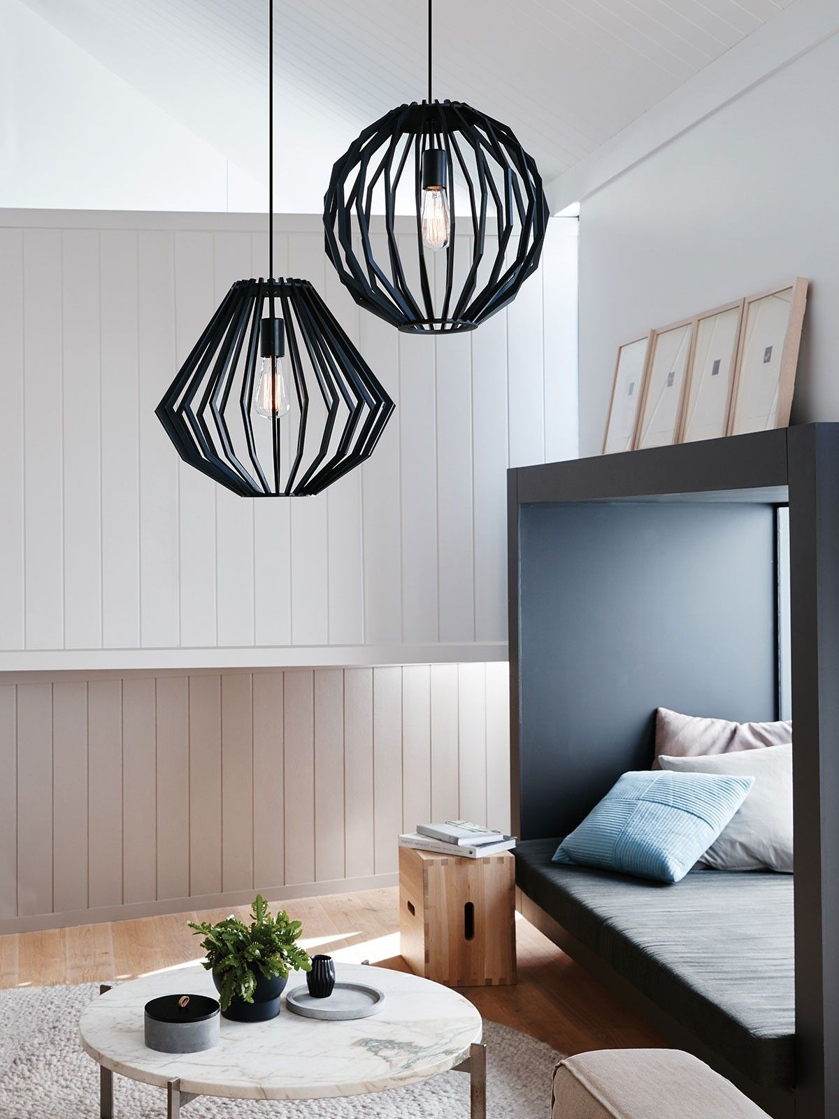 Walderik large squat pendant in black modern pendants pendant walderik large squat pendant in black modern pendants pendant lights lighting aloadofball Images