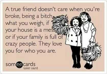 So glad I have amazing friends!!!