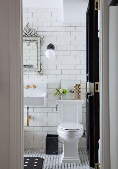 20 Easy Ways To Clean With Vinegar Bathroom Inspiration White Subway Tile Bathroom Beautiful Bathrooms
