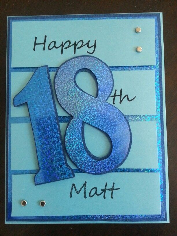 Image Result For 18th Birthday Boy Card Cutout Brother Gifts