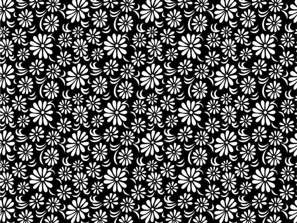 018 floral print black white cool backgrounds patterns pinterest 018 floral print black white mightylinksfo Image collections