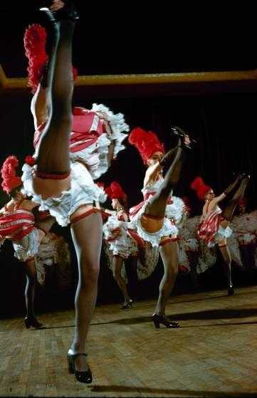 Moulin Rouge Vintage Color Photos Of A Legendary Cabaret S