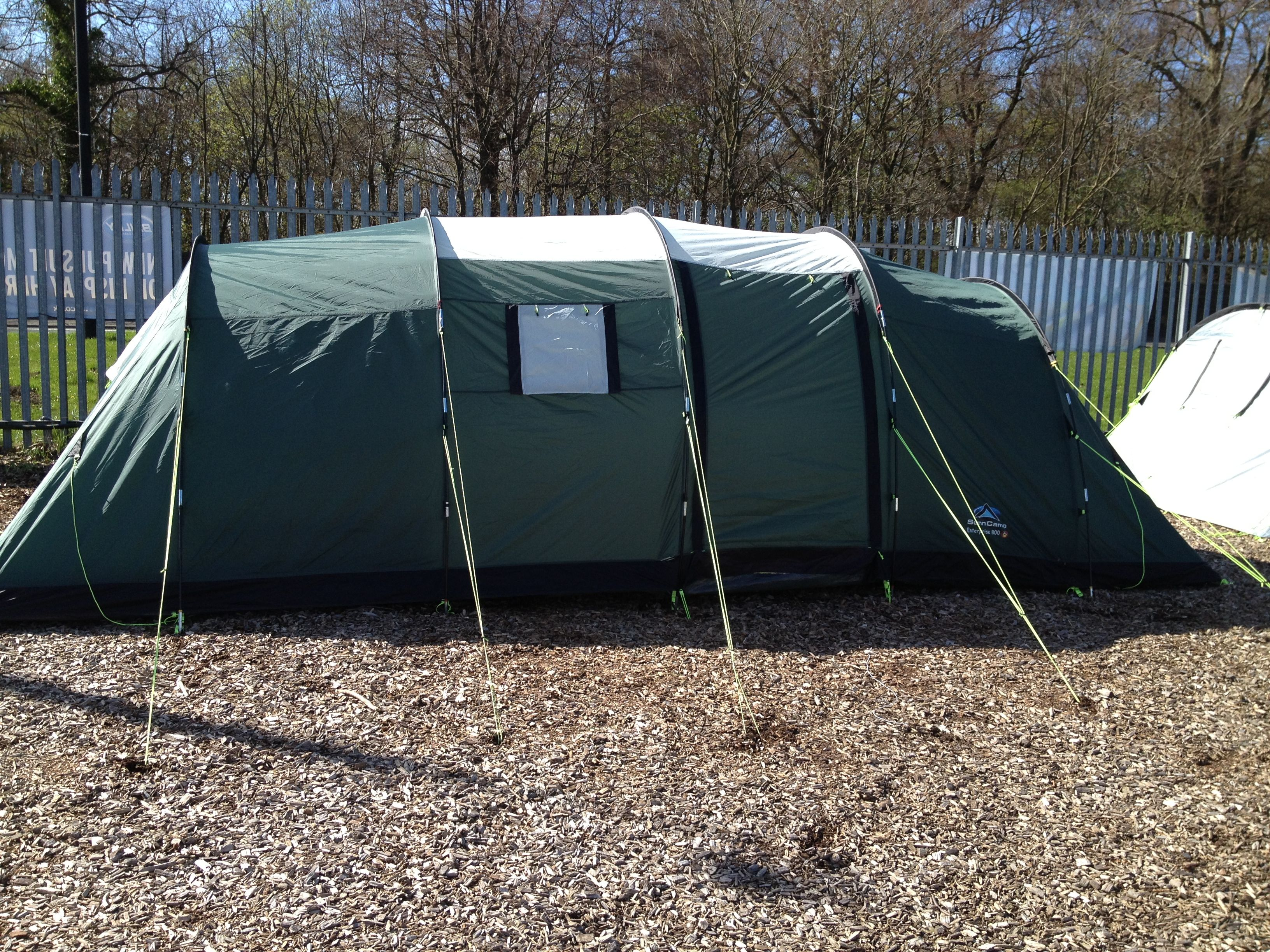 Sunncamp Epic 600 6 Berth INFLATABLE Tent Excellent For Families Or Touring Only 87499 At Awnings Direct