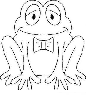 Frog Coloring Page. Frog Coloring Page 19. More Images Of Leap ...