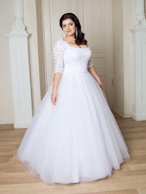Vestidos de novia hermosos para gorditas