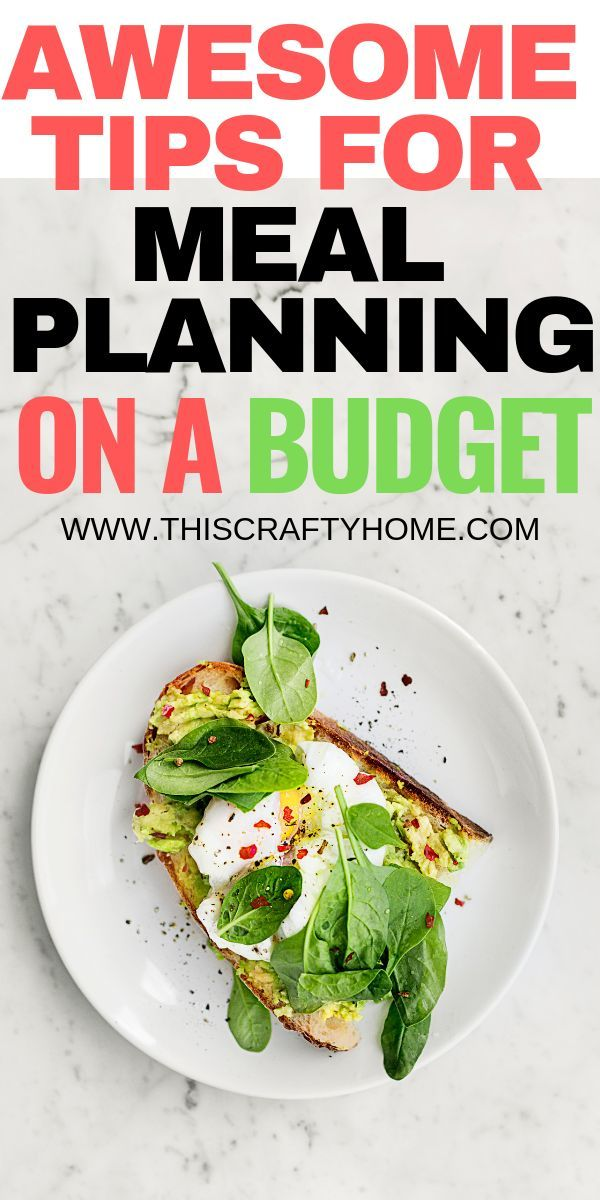 Meal planning on a budget ( with free printable) images