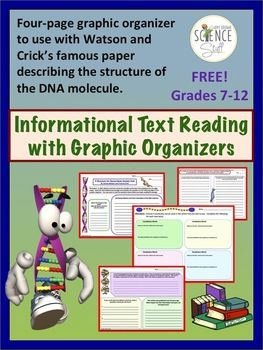007 DNA Informational Text FREE Biology / Chemistry Teaching