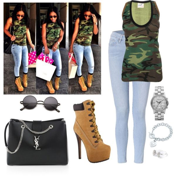 f4d4808e25a timberland heels outfit timberland heels outfit ... | Fashion ...