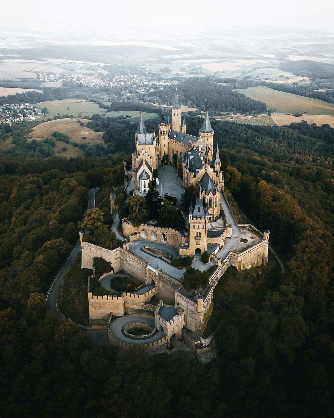 Germany Hohenzollern Castle Beautiful Castles Germany Castles