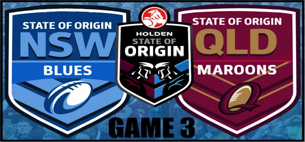 Watch State of Origin Game 3 Live Streaming Free Online