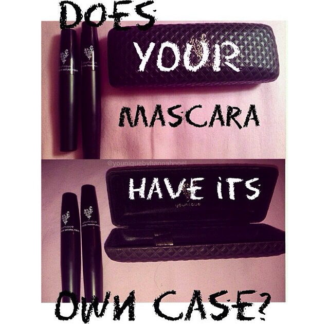 Does your mascara have its own case? Younique 3d fiber