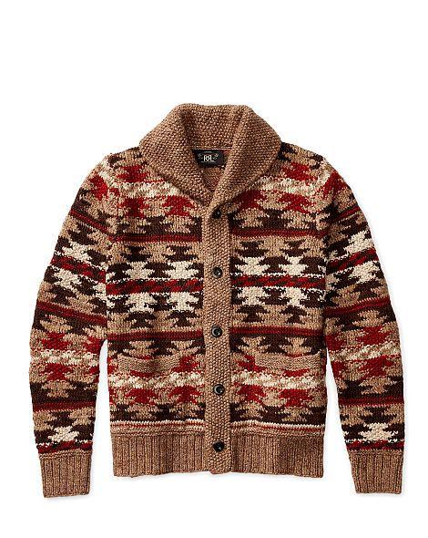 Hand-Knit Shawl Cardigan - RRL Cardigan & Full-Zip - RalphLauren.com