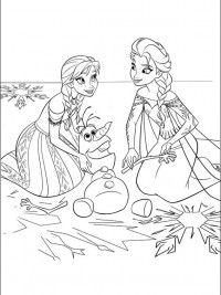 Frozen4 Kleurplaten Bekende Figuren Coloring Pictures Famous