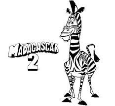 marty the zebra coloring pages - image result for madagascar marty marty the zebra