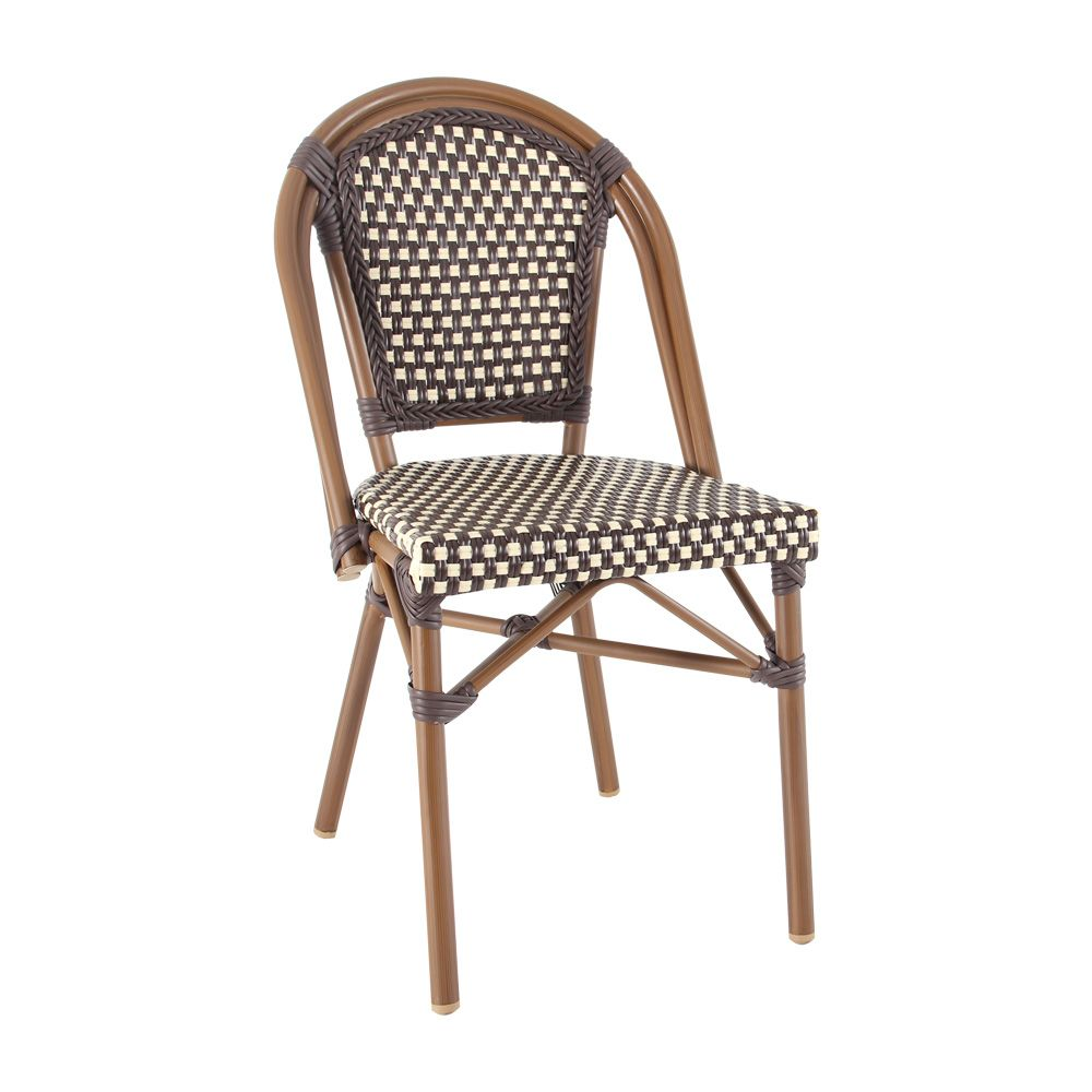 parisian chair in chocolate and cream 99 cafe chairs sydney