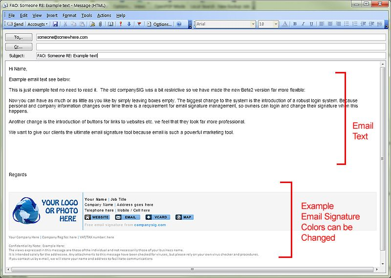 Free Online Company Email Signature Tool | Clever Marketing ...