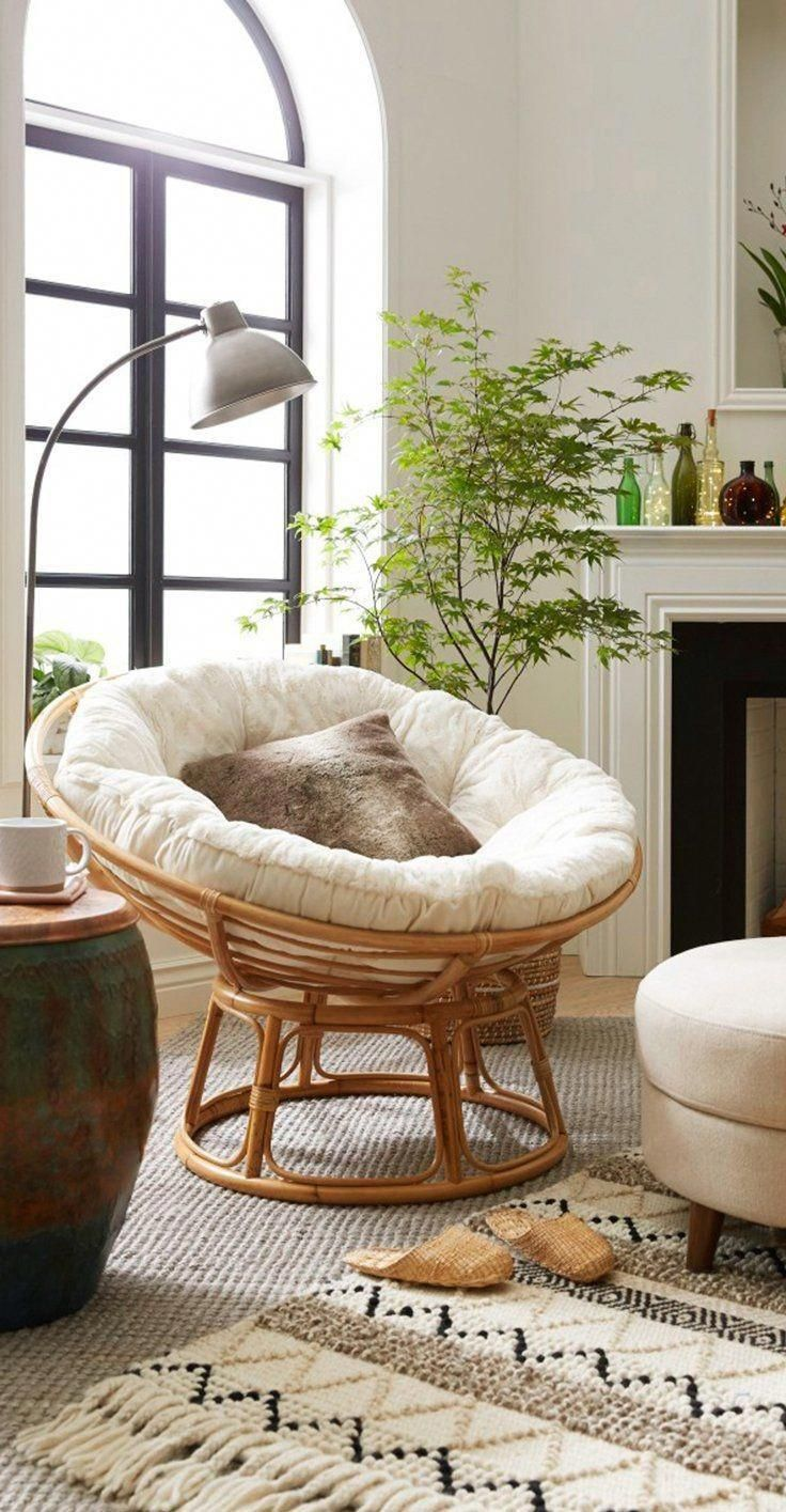 There Are Quite A Few Types Offered In The Develop Of A Papasan Chair Combined With Stylish De Papasan Chair Living Room Room Ideas Bedroom Living Room Chairs