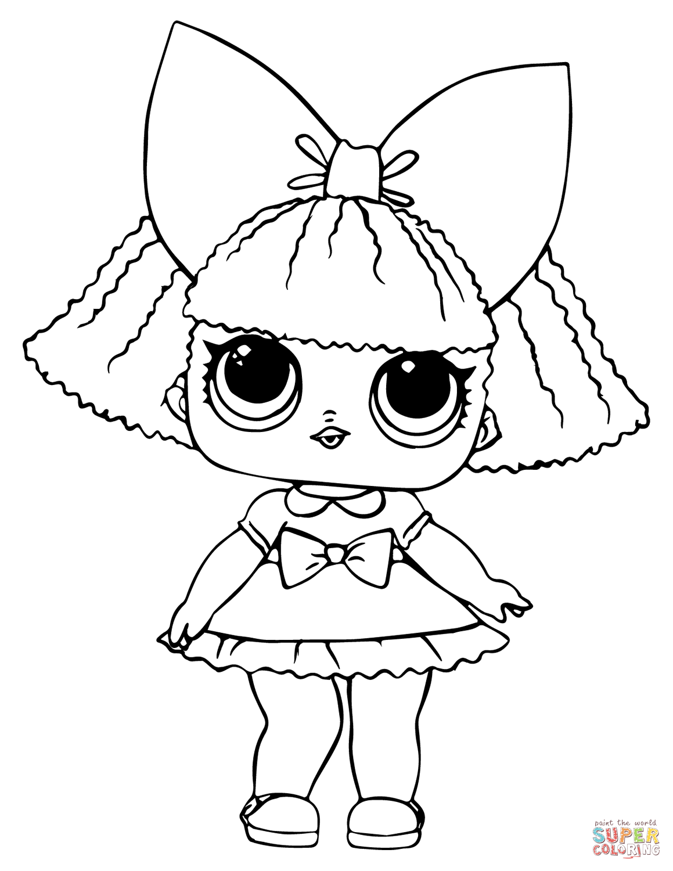 Lol Doll Glitter Queen Super Coloring Desenhos Infantis Para Pintar Imprimir Desenhos Para Colorir Desenhos Para Colorir