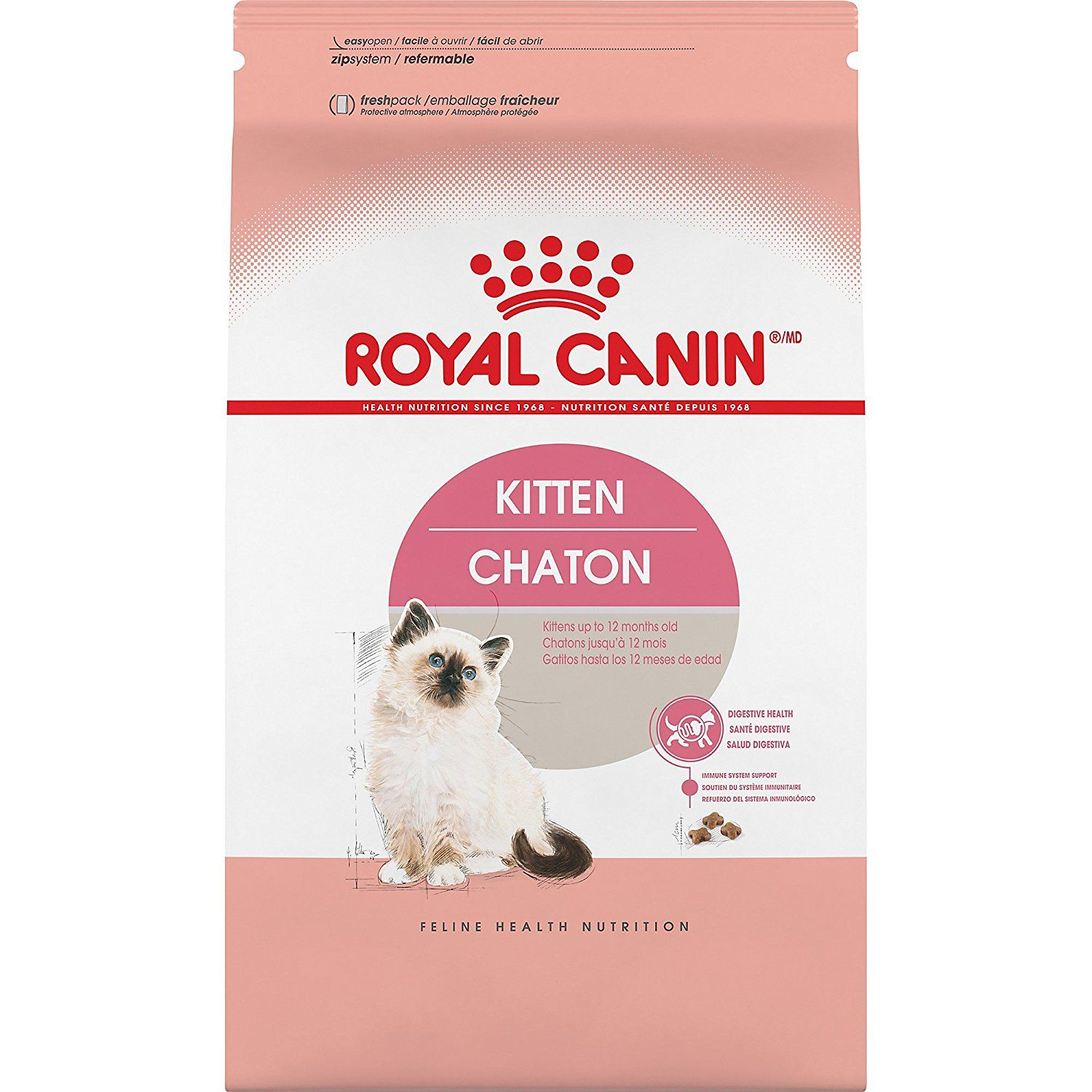 Royal Canin Feline Health Nutrition Kitten Dry Cat Food Click On The Image For Additional Details This Is An A Feline Health Dry Cat Food Cat Food Reviews