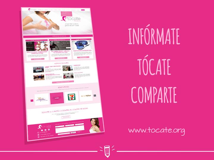 Apoyamos a Tocate Yucatán Mérida en el fortalecimiento de su comunicación para la oportuna prevención del cáncer de mama mediante la donación de su página web.  Visita su sitio http://www.tocate.org/  #ViveTócate #LuchaContraelCáncer - http://ift.tt/1HQJd81