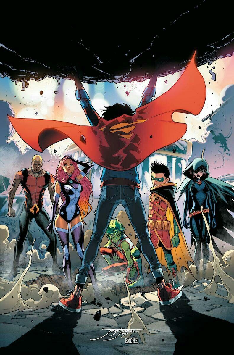 Jóvenes Titanes jimenez, Personajes de dc comics
