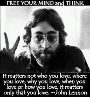 Free your mind and think love