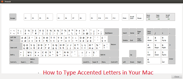 How To Type Accented Letters In Your Mac Accented Blog Writing Letters