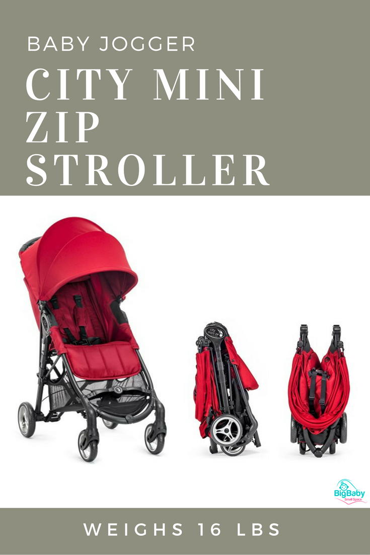 The fullfeatured, full sized City Mini ZIP is Baby Jogger