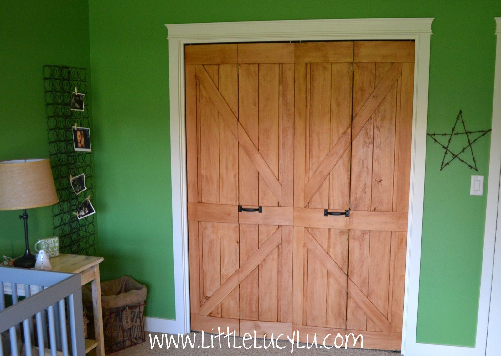 Bifoldclosetdoorslookrustic Think The Barn Doors Just Add A