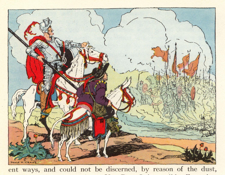 006 Lovely Vintage Illustration from Children's Book