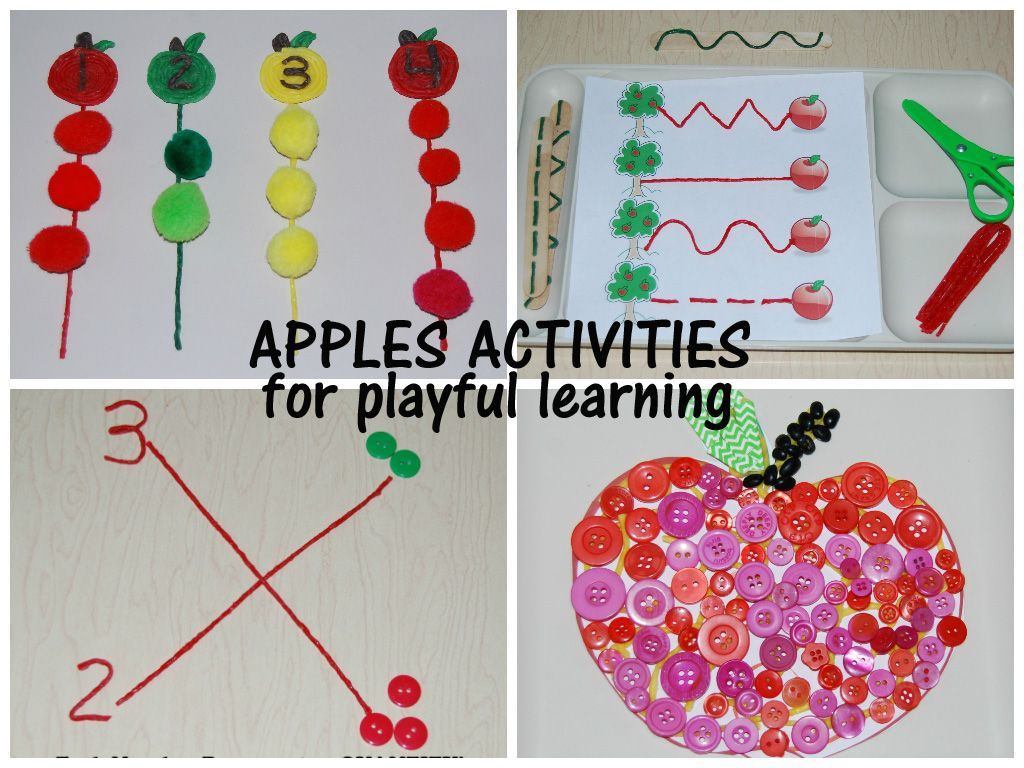 Apples Activities For Playful Learning