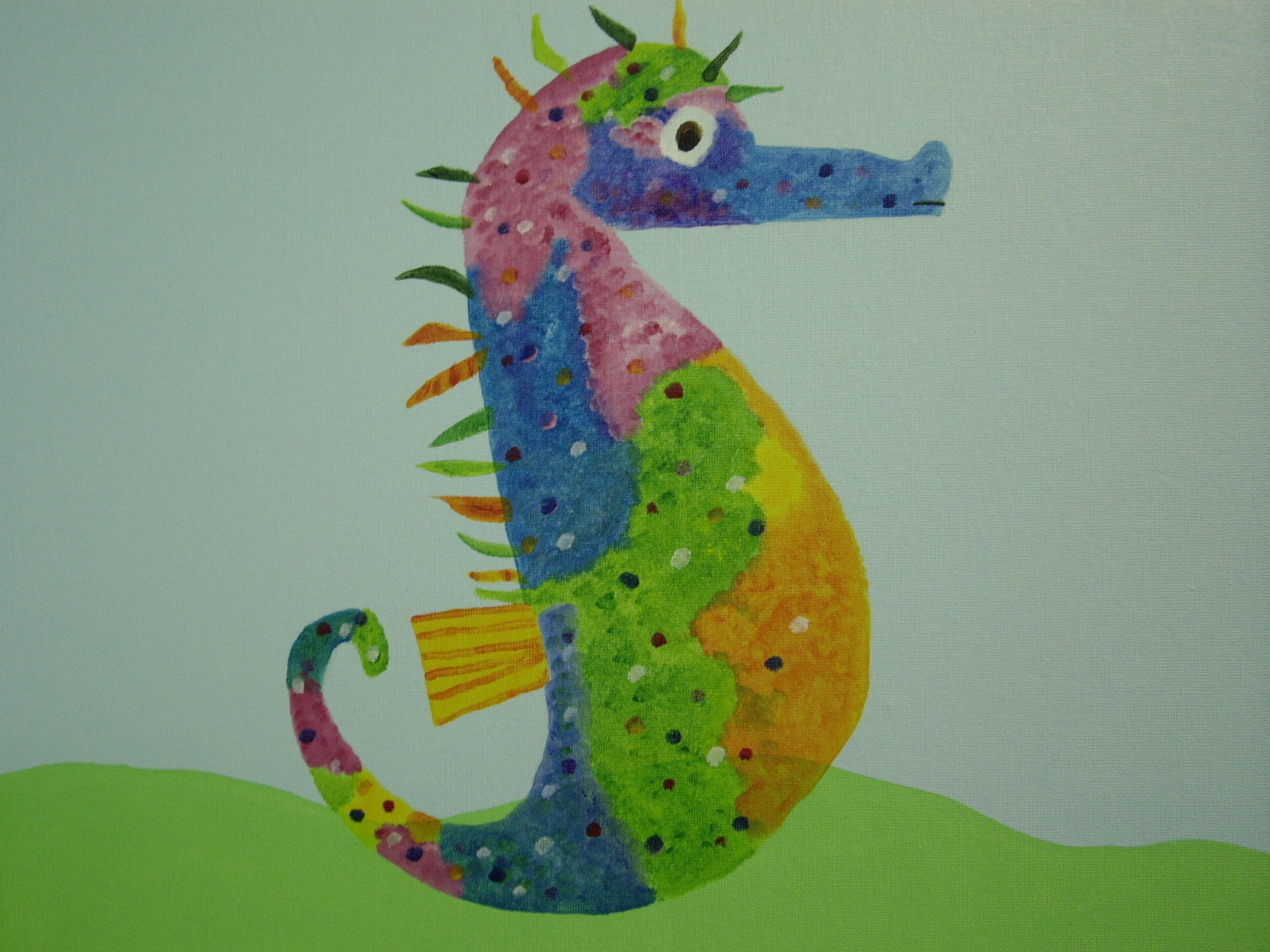 Mister Seahorse Art - 1st Seahorses