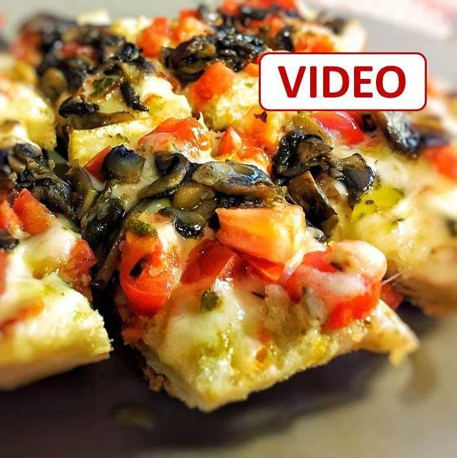 mushroom bruschetta  bruschetta recipe italian recipes recipes