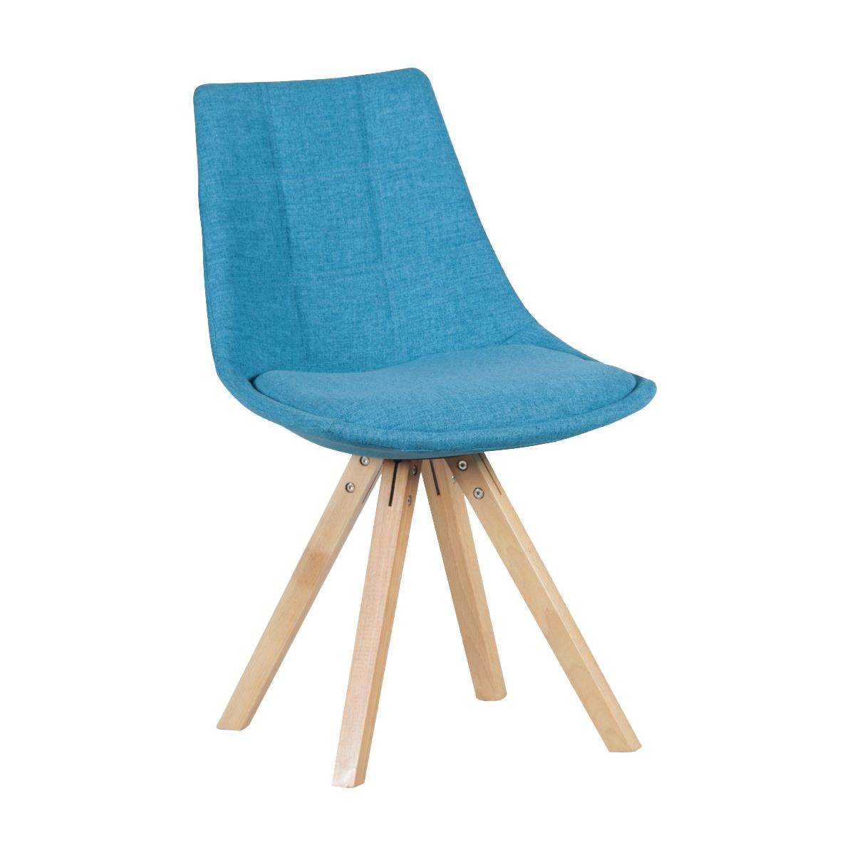 Chaise Bleue Fjord Osez L Alliance Du Style Scandinave Et Du Tissu Ce Modele De Chaise Confortable Grace A Son Assise R Chaise Bleu Chaise Confortable Chaise