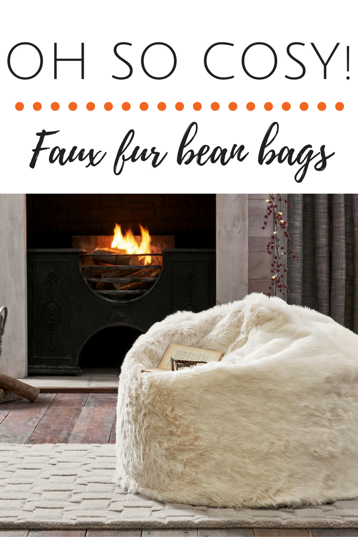 Cosy, Warm And Stylish Faux Fur Beanbags