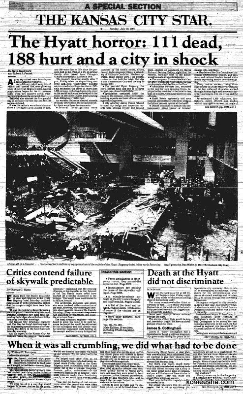 hyatt regency hotel collapse