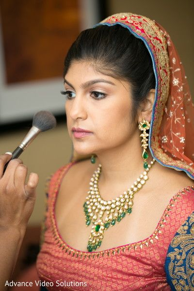 Bride Getting Ready http://www.maharaniweddings.com/gallery/photo/80496