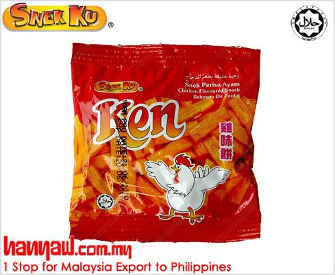 We Are Exporting Grocery Products Like Snek Ku Ken Chicken Flavour