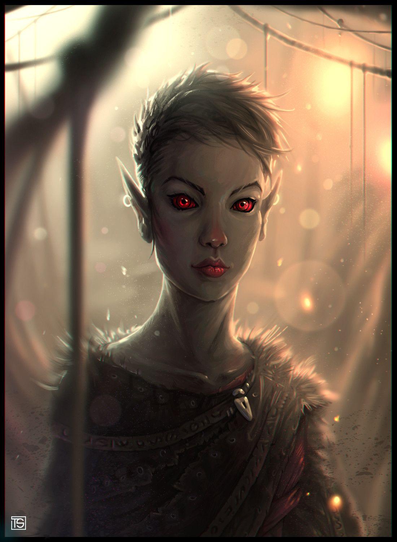 ArtStation - Urshilaku Dunmer, Thorn Spine