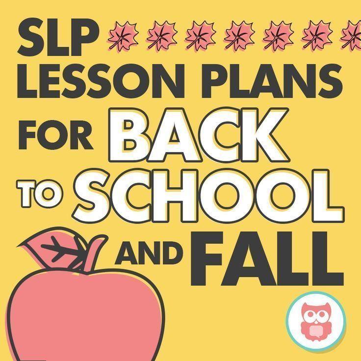 Everything you need for preschool and elementary speech therapy for back to school and fall. Filled with tons of activities, printables, crafts, and picture book ideas to keep your students engaged! From Speechy Musings.