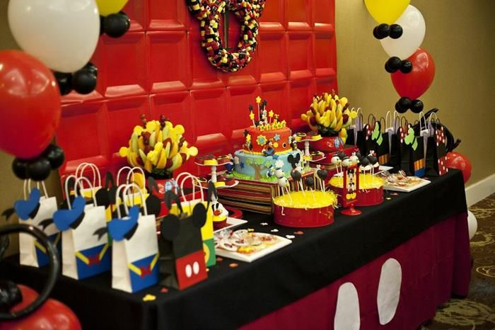mickey and friends party via karas party ideas karaspartyideascom mickeymouse