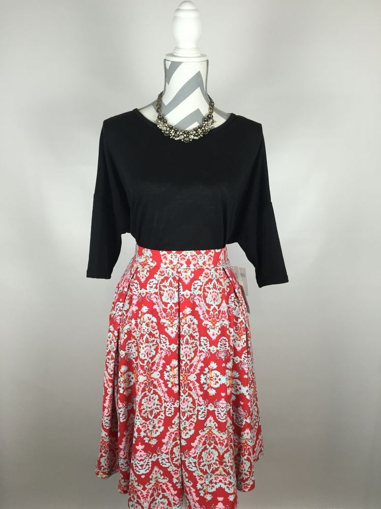 Style your LuLaRoe MADISON skirt with pieces you already own!  Jewelry, cardigans, scarves, and shoes will give your look your own personal touch! Chic and comfortable! Facebook.com/groups/LuLaRoePrisandJulie/