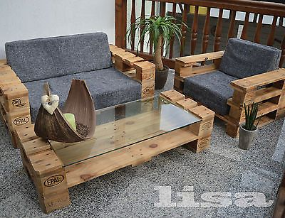Lounge Gartenmöbel lounge gartenmöbel 2 sitzer palettenmöbel terrasse vintage design