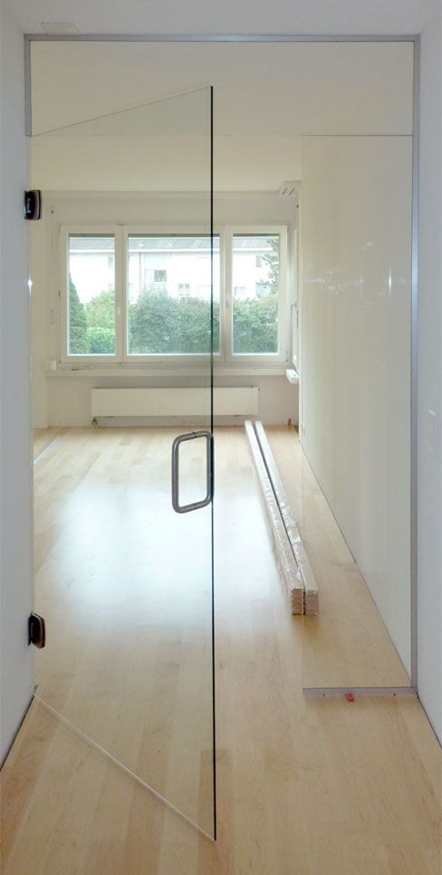glasabschluss aus oberlicht glast re und festem glasteil t ren t ren glas und schiebe t r. Black Bedroom Furniture Sets. Home Design Ideas