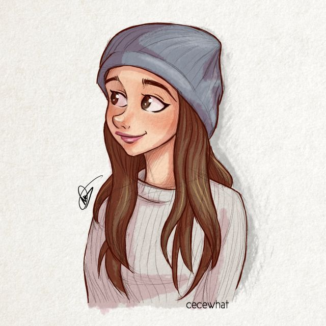 Ariana Grande inspired drawing | via Tumblr on We Heart It ...