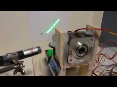 Arduino Due Laser Show (github added) - YouTube | SLA 3d printer