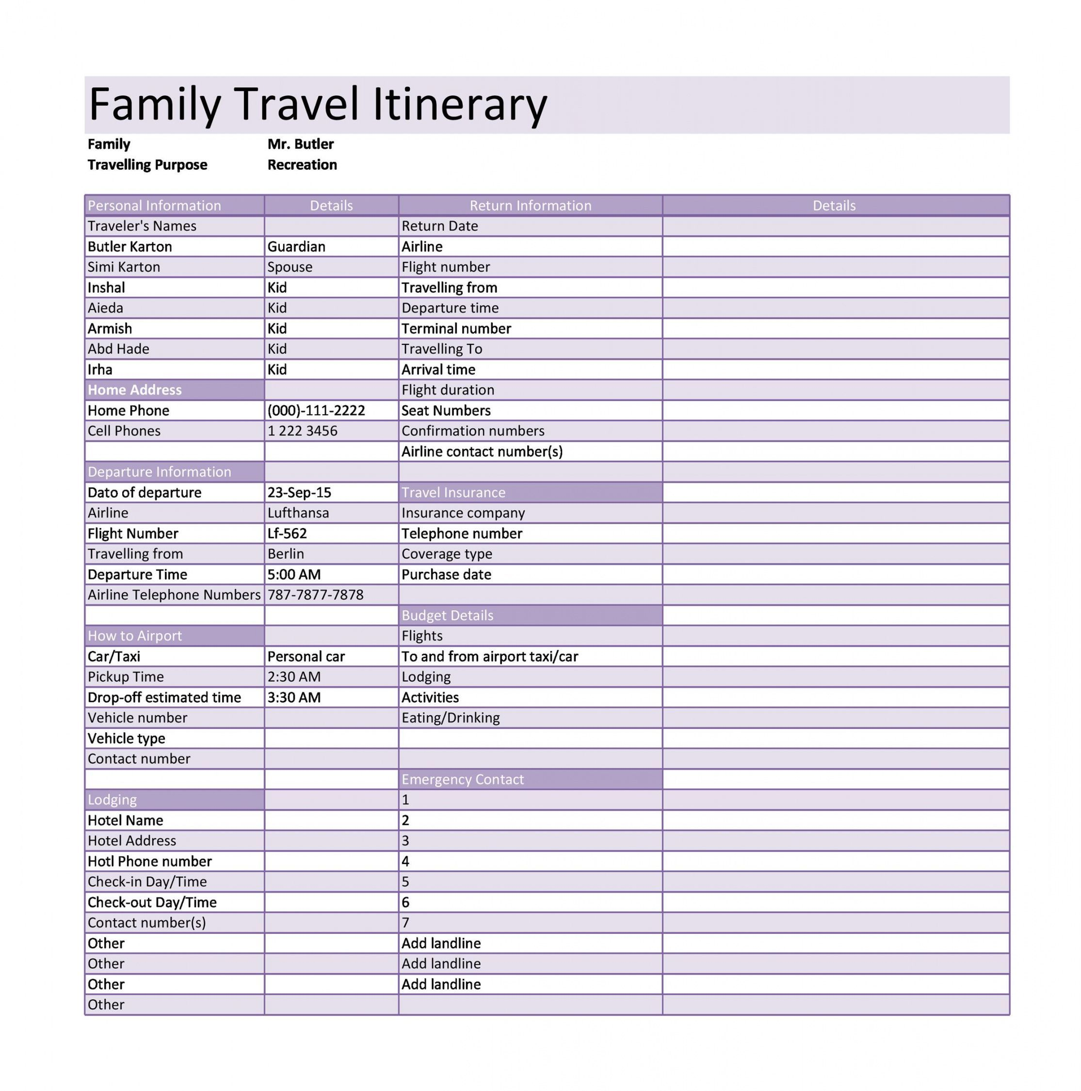 Get Our Example Of Leisure Travel Itinerary Template For Free Itinerary Template Travel Itinerary Travel And Leisure Example of itinerary for tour