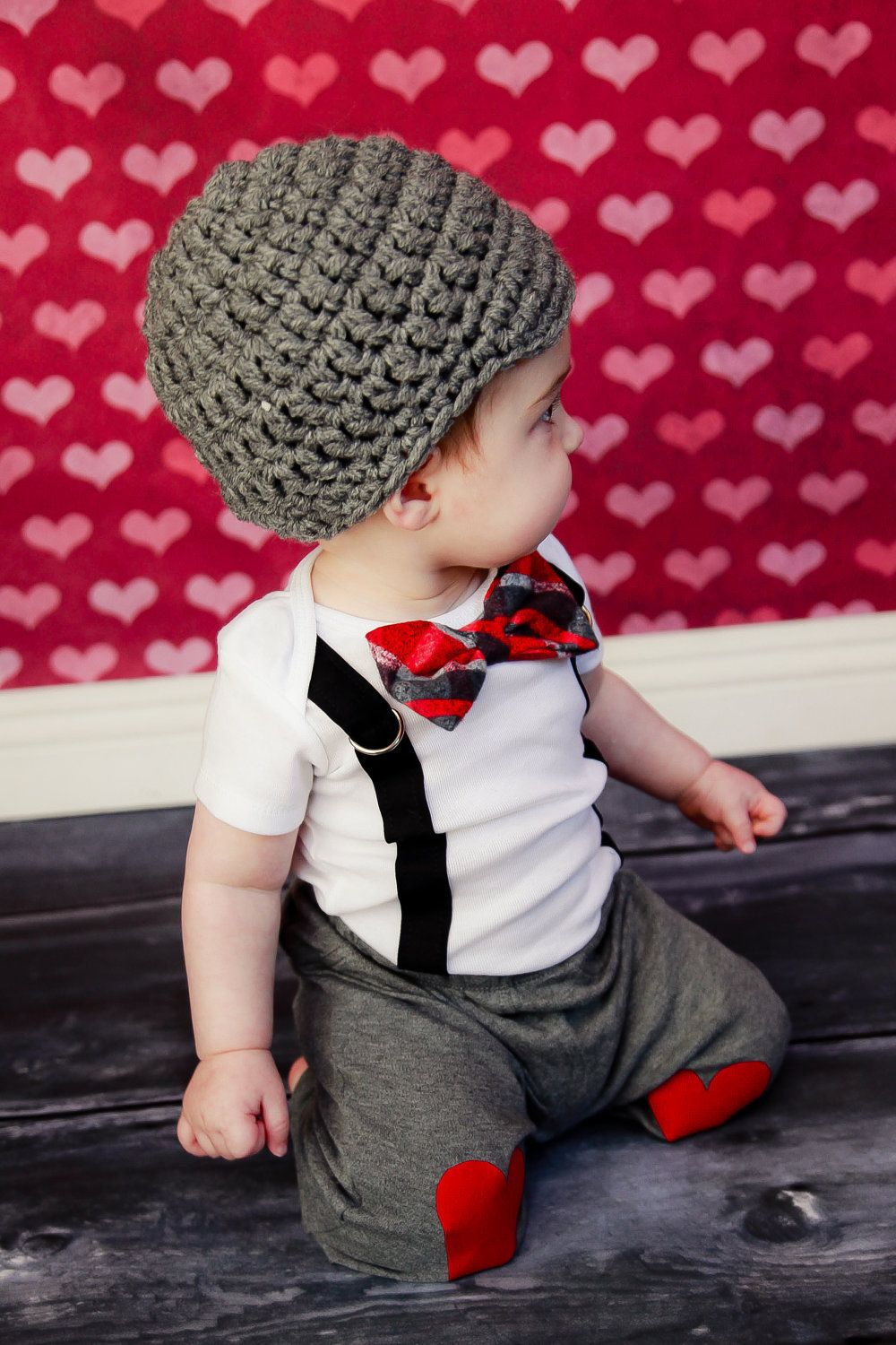 Get The Set Valentines Day Boys Bow Tie Onesie Or Shirt