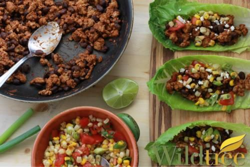 Wildtree's Turkey Enchilada Lettuce Cups Recipe You can view more products and recipes at http://www.mywildtree.com/MICHELLEML/