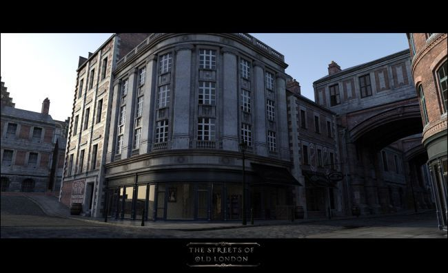 The Streets Of Old London | 3D Models for Poser and Daz